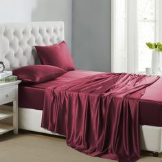 Pure Silk Fitted Sheets: Finest Silk Fitted Sheets in Mulberry Silk – OOSilk