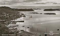View from Korpåsberget, old postcard