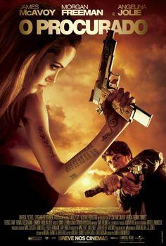 """Um filme de Timur Bekmambetov com James McAvoy, Angelina Jolie Pitt : Wesley Gibson (James McAvoy) tem 25 anos e detesta sua vida. Ele segue o caminho de seu pai e entra para a Fraternidade, uma liga de assassinos treinados para executar as ordens do destino, cujo lema é """"matar um, salvar mil"""". Logo ele se torna o p..."""