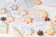 """""""Kekse und Schokolade zur Weihnachtszeit""""    #Kekse #Weihnachten #Plätzchen #Rezepte"""