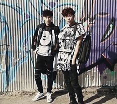 Sunggyu and Myungsoo for High Cut Magazine Vol.143