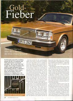"Volvo 262C - ""Gold Fever""."