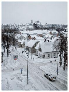 Winter in Tønsberg, Norway via Pierre-chaton