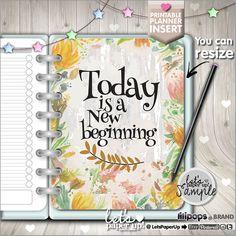 Planner Insert, Printable Planner Insert, Planner Divider, Planner Quotes, Erin Condren, Planner Dashboard, Kawaii Planner, Inspirational