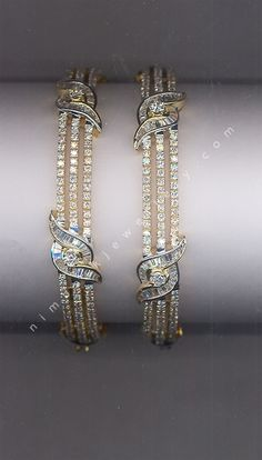 Surprise Me! Diamond Bangles