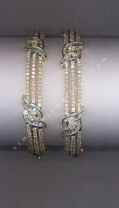 Surprise Me! Diamond Bangles