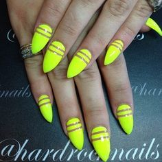 Summer stiletto nails☻