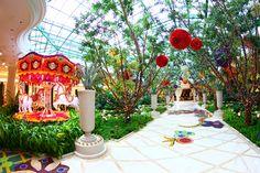Atrium at Wynn Las Vegas.