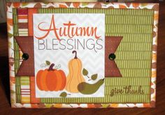 Autumn Blessings : Gallery : A Cherry On Top