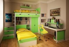 Traditional Kids Bedroom with Laminate floors, Crown molding, Bunk beds, Ducduc austin bunk bedroom collection