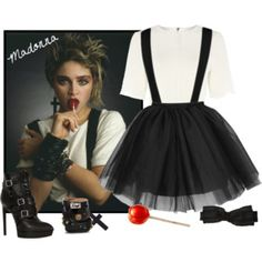 Madonna - 80's Icon - costume ideas!