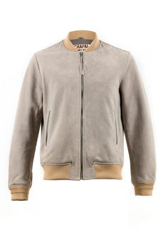 CHAPAL SUEDE JACKET   MADE IN FRANCE  LUXURY