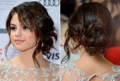 Get your own #SelenaGomez updo with this easy #HairTutorial: http://www.somystyle.com/how-to-selena-gomez-updo/ #hairdo #CelebStyle