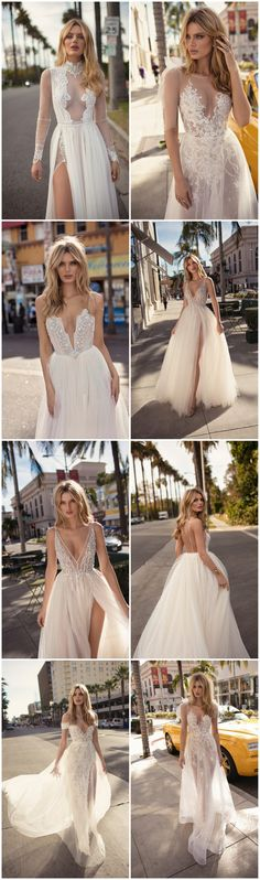 Sheer Perfection! Get ready to obsess over BERTA's 2019 'City of Angels' Wedding Dresses:  http://www.confettidaydreams.com/berta-2019-muse-city-of-angel-wedding-dress-collection/