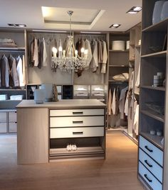 High quality dressing room by CABINET. room # wardrobe # walk-in closet closet walk-in Walk In Closet, Girls Dressing Room, Small Room Bedroom, Walk In Closet Design, Built In Wardrobe, Living Decor, Closet Organization, Home Decor, House Interior