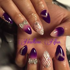 purple #nails #nailtimenfun #acrylicnails #nailart #naildiva #nailgame #nailgasm #nailporn #nailswag #nailcraze #nailmania #nailaddict #nailbling #nailfashion #nailobsession #nails2inspire by nailtimenfun