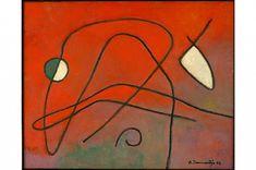 Olgerts JAUNARAJS  Latvian | 1907 - 2003 Untitled, 1998