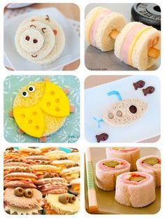 Recetas para niños: 6 sandwiches divertidos