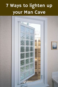 Egress windows can be an excellent source of natural light (and safety) for a basement man cave. Get other ideas here - http://blog.innovatebuildingsolutions.com/2015/08/23/7-ways-light-man-cave-natural-electrical-lighting-options/