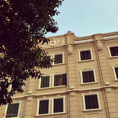 Vintage building at Alameda Barão de Limeira - Sao Paulo, Brazil