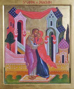 Atelier d'Icônes Anastasis: Saints Anne & Joachim