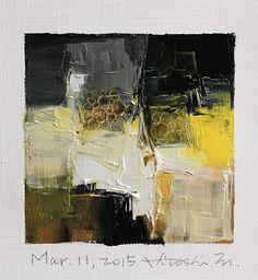 Mar. 11 2015 Original Abstract Oil Painting by hiroshimatsumoto