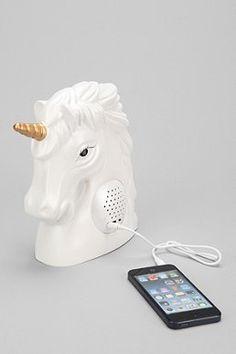 Unicorn Portable Speaker / urban outfitters