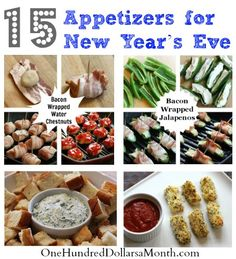 15 Appetizers for New Year's Eve