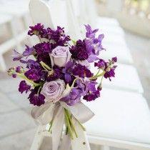 Purple hydrangea candle lit lantern wedding centerpiece   Deer Pearl Flowers