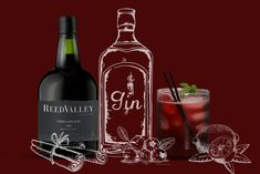 Easy-to-prepare cocktail recipes made using ReedValley's Vinho Cabo Rubi (Cape Ruby Port). Cocktail Recipes, Cocktails, Wines, Red Wine, Rebel, Alcoholic Drinks, Bottle, Craft Cocktails, Flask