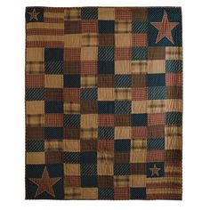 Patriotic Patch Throw 60x50in