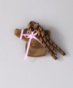 Another great find on #zulily! Brown Horse Korker Clip by Loopy Loos #zulilyfinds