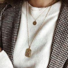 Incredibly Fall winter trendy jewelry - Mimy Bijoux - Women's Jewelry and Accessories-Women Fashion Dainty Jewelry, Trendy Jewelry, Simple Jewelry, Jewelry Trends, Jewelry Accessories, Women Jewelry, Fashion Jewelry, Fall Jewelry, Look Fashion