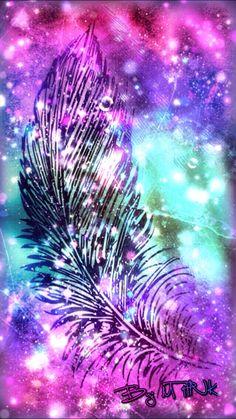 Omg i lobe this wallpaper u will tooo Sassy Wallpaper, Cute Galaxy Wallpaper, Chevron Wallpaper, More Wallpaper, Painting Wallpaper, Cool Backgrounds, Wallpaper Backgrounds, Dreamcatcher Wallpaper, Turquoise Art