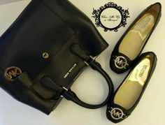 Michael.Kors Greenwich satchel black  Michael Kors Fulton flat Available: black, scarlet red, navy, luggage and royal blue