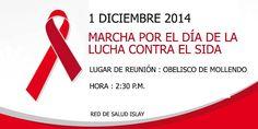Convocatoria marcha por el día de lucha contra el SIDA