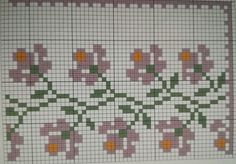 Cross Stitch Embroidery, Dots, Places