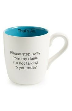 We all need this mug for mornings when nothing goes right:)