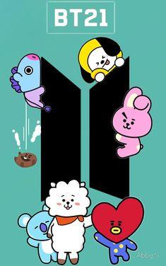 New Bts Wallpaper Cute Fanart 53 Ideas Bts Taehyung, Bts Bangtan Boy, Bts Jimin, Bts Army Logo, Bts Backgrounds, Bts Drawings, Bts Korea, Bts Chibi, Bts Fans