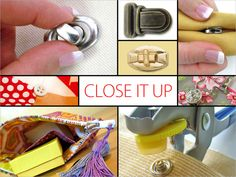 We Need Closure: A Handy List of Locks, Snaps, Zips & More | Sew4Home
