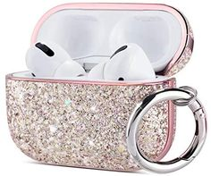Iphone Online, Airpod Pro, Pink Glitter, Theater, Phones, Audio, Plating, Surface, Cases