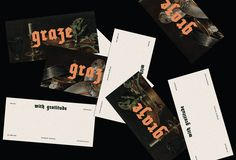 Picture of 11 designed by Madison Tierney for the project Graze Wine Bar. Published on the Visual Journal in date 31 October 2017