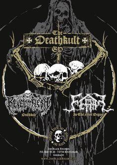 Revel In Flesh/ Feral Deathkult Split