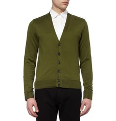 Givenchy Contrast-Back Cotton Cardigan | MR PORTER