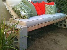 30 DIY Garden benches for your backyard.  Great ideas, designs and tutorials