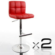 red bar stools - Google Search