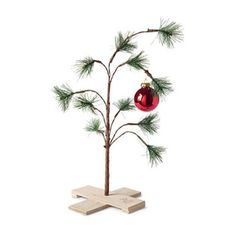WHOLE HOME NOËL(TM/MC) The Original Charlie Brown Christmas Tree - Winter Wonderland - Sears