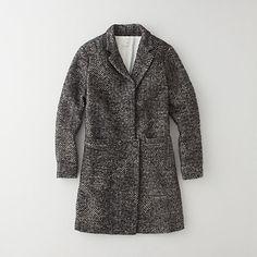Tweed Overcoat by Pomandere