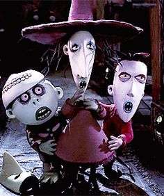 *LOCK, SHOCK & BARREL ~ The Nightmare Before Christmas, 1993