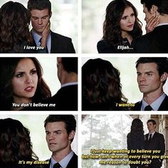 #TVD #TO The Vampire Diaries, The Originals Katherine & Elijah